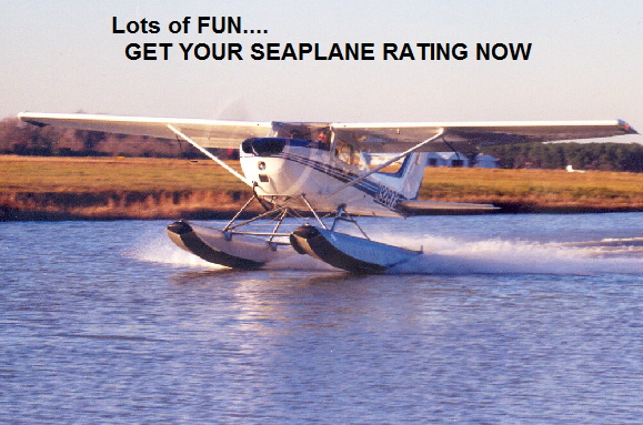 Lots of FUN....   GET YOUR SEAPLANE RATING NOW